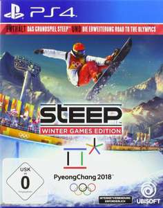 Steep: Winter Games Edition (Steep + Road to the Olympics) (PS4) für 14,99€ (Amazon Prime)
