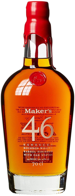 [Amazon Prime] Maker's 46 Bourbon Whiskey (1 x 0.7 l) - 31,92€ durch 20% Coupon