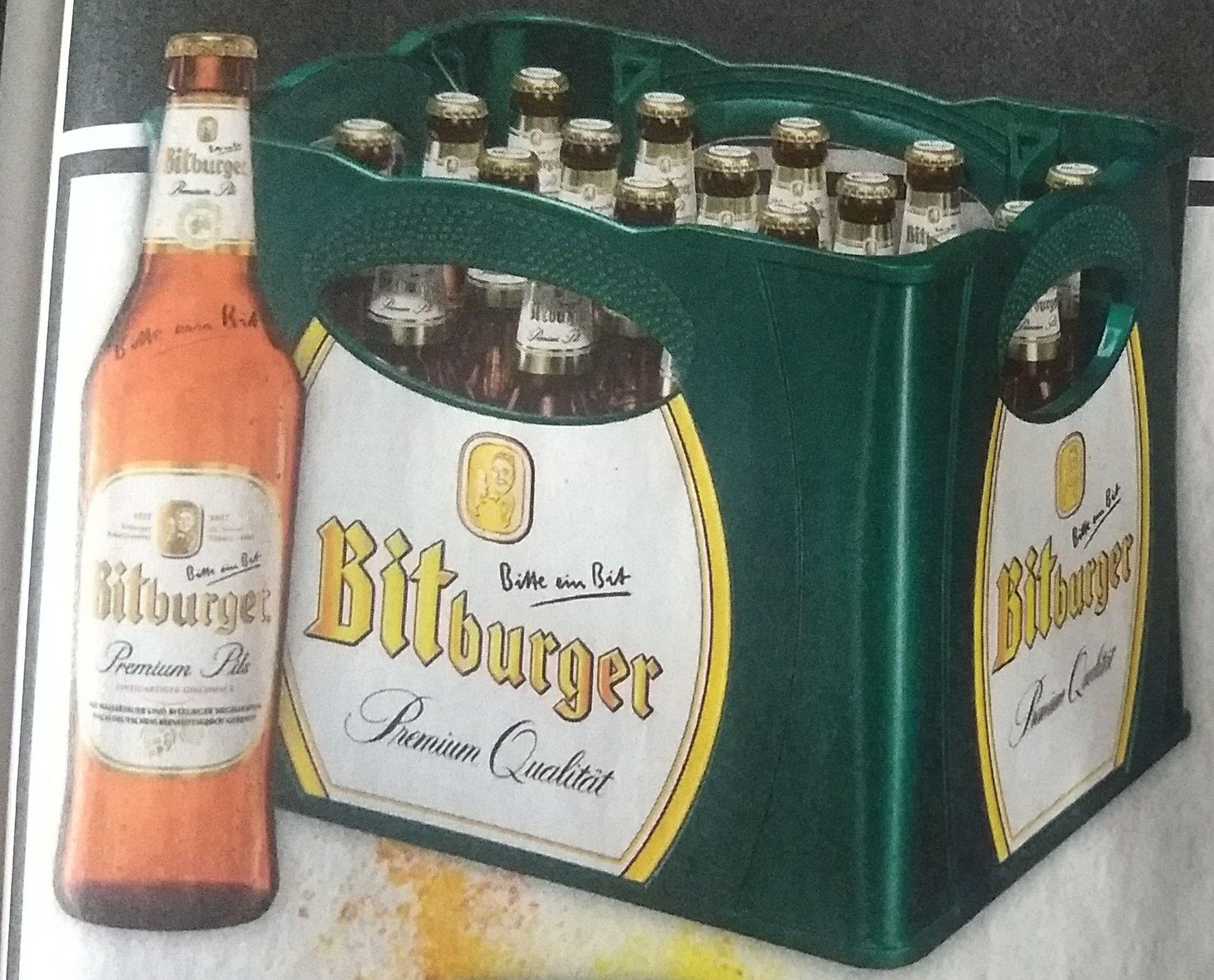 (Edeka) Kasten Bitburger 20 x 0,5l durch 1€ Cashback bei Marktguru für 9,79€