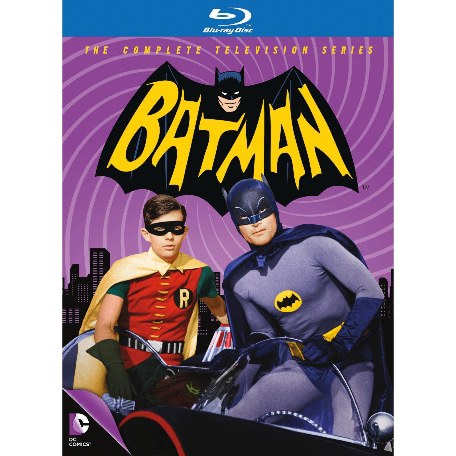 Batman - Die komplette Serie (Blu-ray) für 36,99€ versandkostenfrei (Amazon & Saturn)