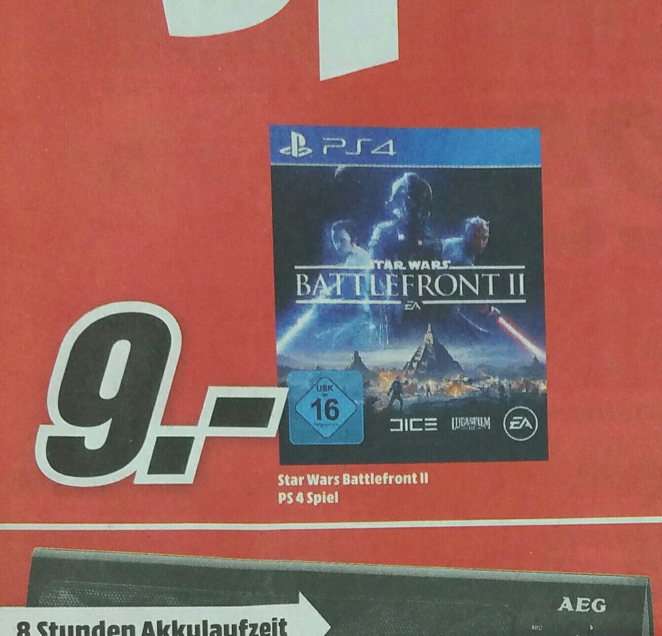 Star Wars Battlefront 2 (PS4) (Lokal Kiel) MediaMarkt