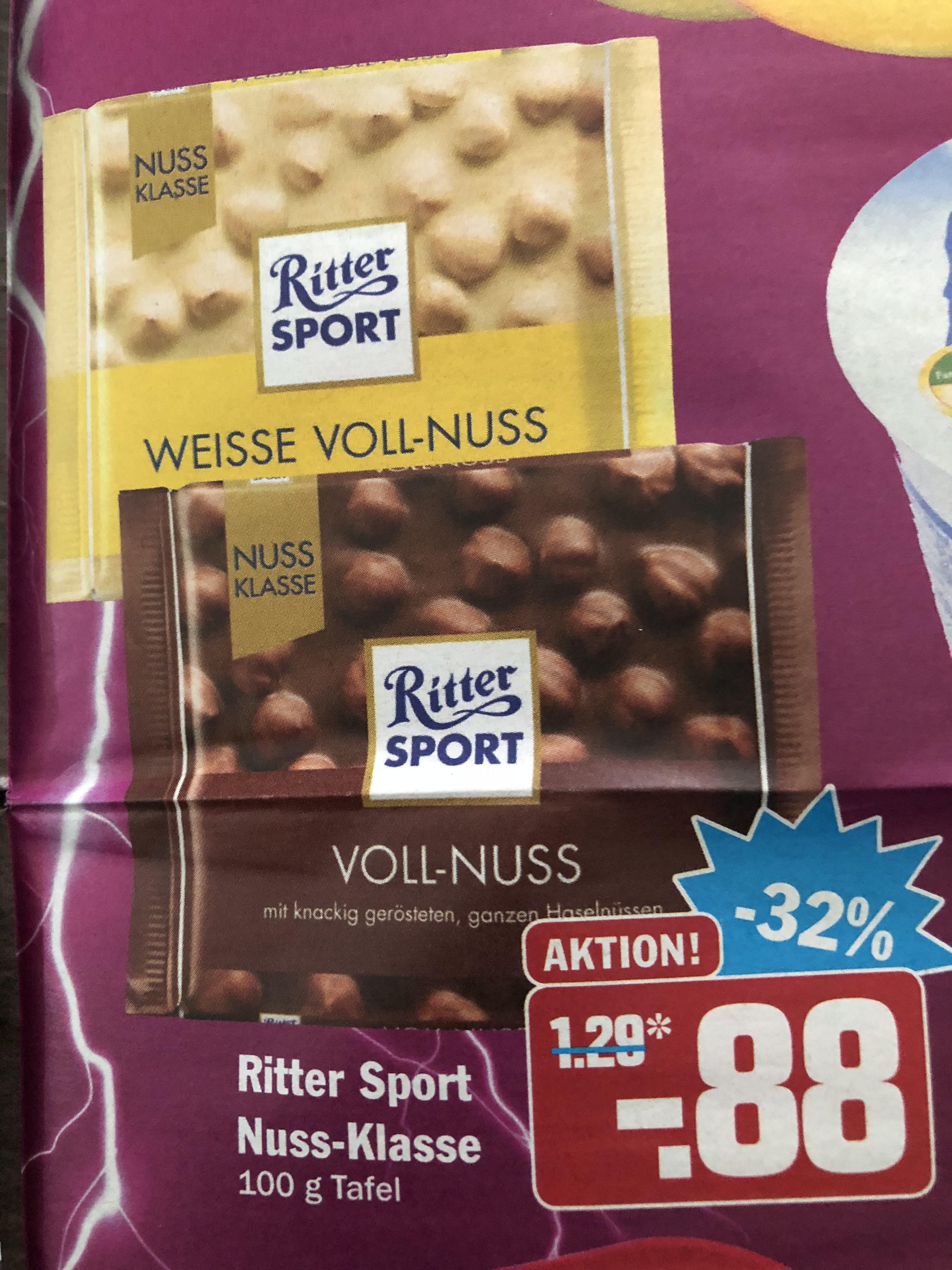 (Region München) AEZ Einkaufszentren: Ritter Sport Nussklasse 0,88€