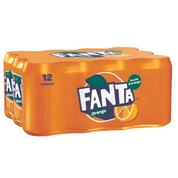 [Grenzgänger FR] Fanta Orange 12 33cl-Dosen für 3,33 € (pfandfrei) bei Carrefour Market (0,28 € pro Dose)