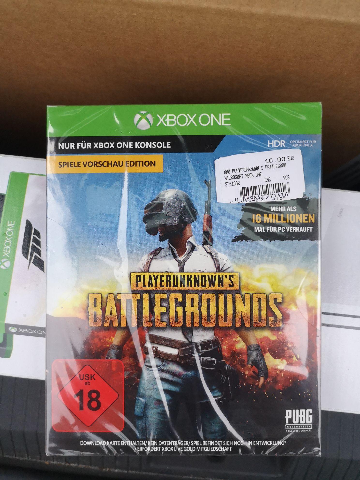 [XBOX][Lokal] Playerunknown's Battlegrounds - MediaMarkt Wiesbaden