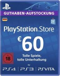 60€ PSN Guthaben zum Hammerpreis
