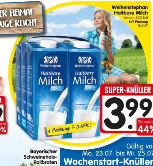 Weihenstephan Sixpack nur 3,99€ [Edeka/Lokal]