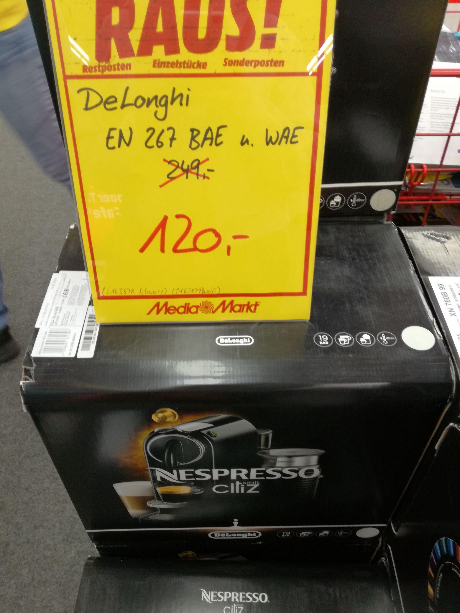 Media Markt Memmingen DeLonghi Nespresso CitiZ EN 267