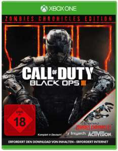 Lokal Saturn Bielefeld XBOX ONE Call of Duty Black Ops III Zombies Chronicles Edition