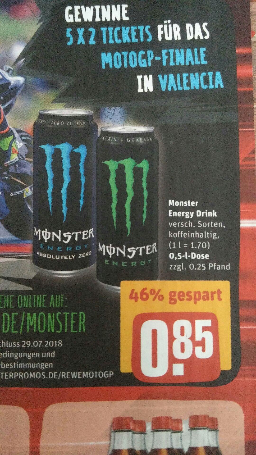 [REWE] Monster Energy 0,5-l-Dose (Lokal Aachen?)