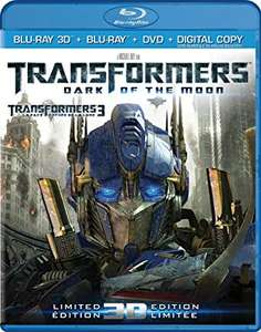Transformers 3 - Die dunkle Seite des Mondes (3D Blu-ray + Blu-ray + DVD + Digital Copy) für 5,05€ (Zoom.co.uk)