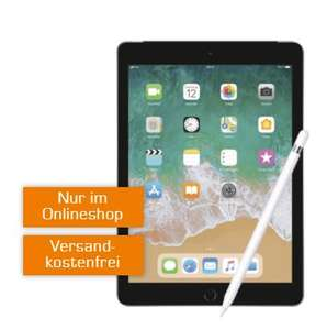 Saturn: Apple iPad 2018 32GB + Pencil mit MD Telekom 4GB Datentarif 69€ / ohne Pencil 1€ Zuzahlung
