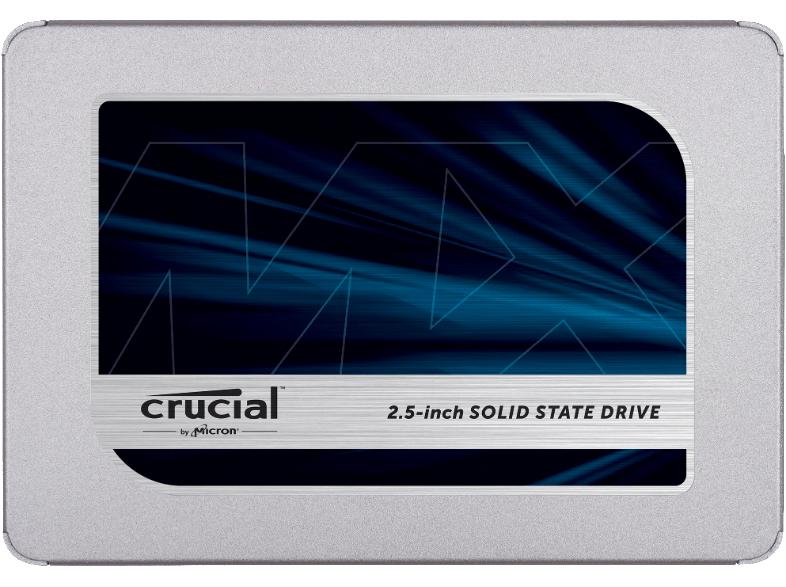 """Alle CRUCIAL MX500 reduziert, z.B. 500 GB SSD 2.5"""" für 84,00 € bei Marktlieferung [Mediamarkt]"""