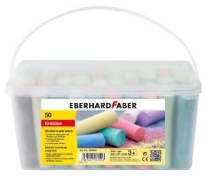 Eberhard Faber Straßenmalkreide 50er Eimer für 3,49€ (Müller)