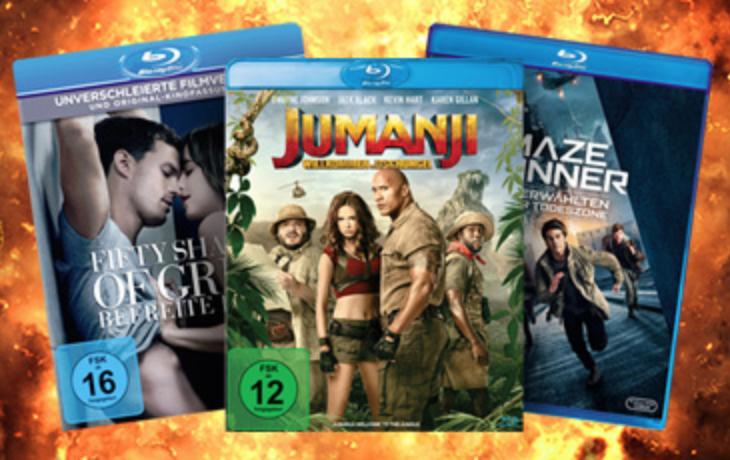 Beim Onlineshop Müller.de gibt es 20% auf alle Blu-rays