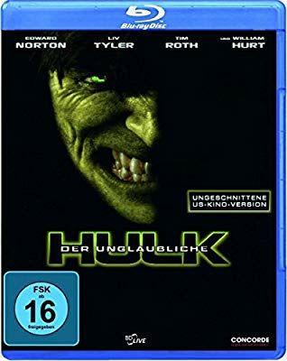 Der unglaubliche Hulk(ungeschnittene US-Kino-Version) [Blu-ray] (Amazon Prime)