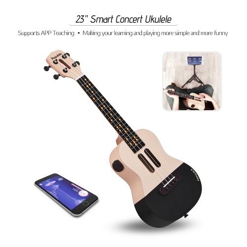 """[TomTop] Xiaomi Populele U1 23"""" Smart Concert Ukulele Ukelele Uke Kit"""