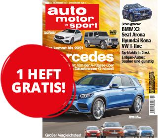 Eine Gratis-Ausgabe von auto motor und sport über Conrad Electronic (Belieferung endet automatisch)
