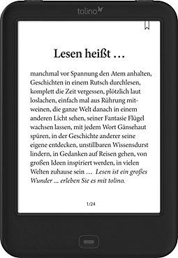 tolino shine 2 HD eBook-Reader für 84,15€ [Weltbild]