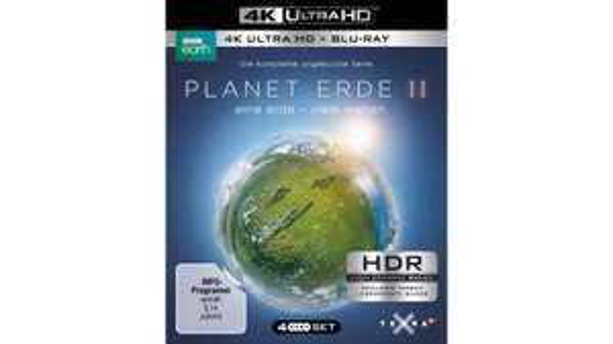 [Müller] Planet Erde II (4K Ultra HD) für 28€ & Unser blauer Planet II (4K Ultra HD) für 35,99€