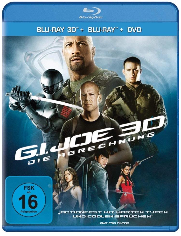 G.I. Joe: Die Abrechnung (+ Blu-ray) [Blu-ray 3D]