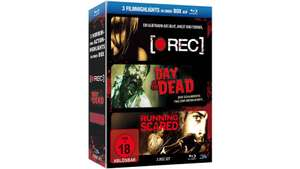 [Müller] Horror und Action - Box REC(Uncut), Running scared(Uncut), Day of the Dead