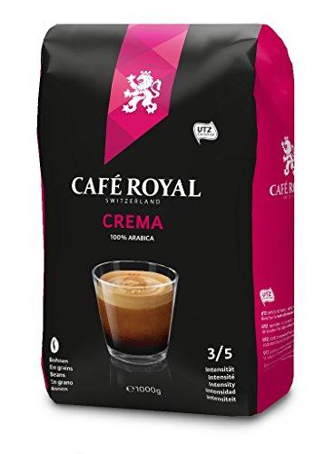 Café Royal Crema Bohnenkaffee 1kg, 1er Pack (1 x 1000 g) Erstbestellung