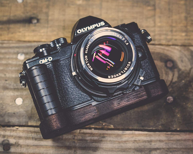 Handgefertigter Kameragriff für Olympus, Fujifilm, Sony, Leica, ...