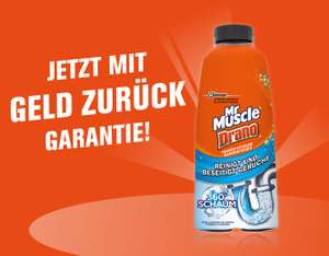 Mr Muscle Drano Power Schaum gratis testen durch GZG