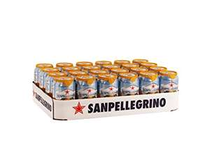 [Amazon] San Pellegrino Orange, Blutorange und Grapefruit 24er Pack (24 x 0,33l) im Angebot
