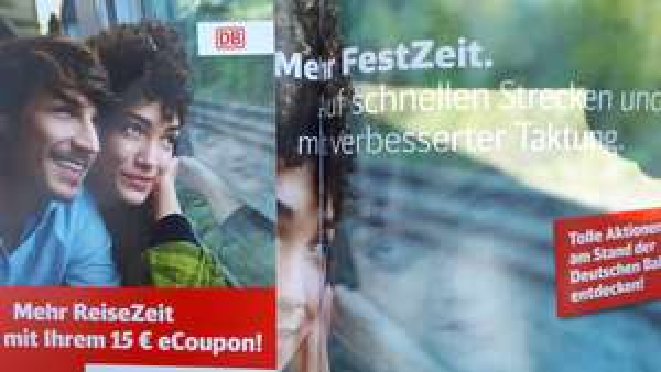 [Lokal Das Fest Karlsruhe] 15€ DB-eCoupon ab 49€ MBW zum Mitnehmen