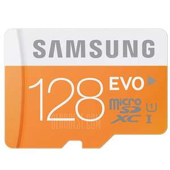 3x Samsung EVO 128GB Class 10 Micro SDXC Card @Gearbest für 72,09€ / 24,03€ pro Stück