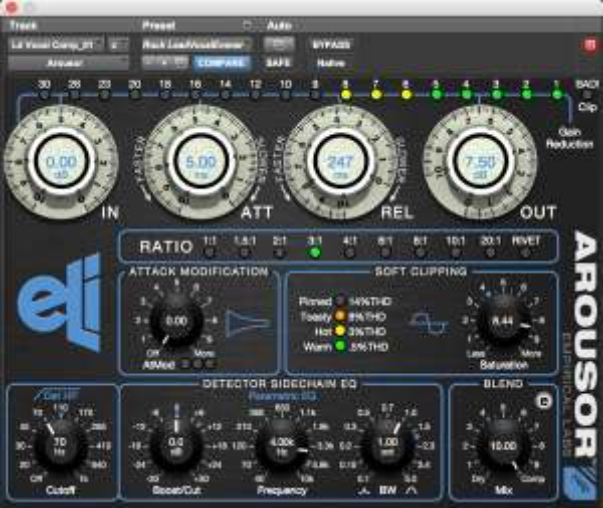 Empirical Labs Arousor - High-End AU/VST/AAX Compressor Plugin $134.10 statt $299.00