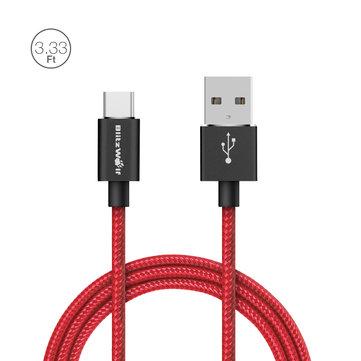 BlitzWolf BW-TC1 3A USB Typ-C Kabel, 1m