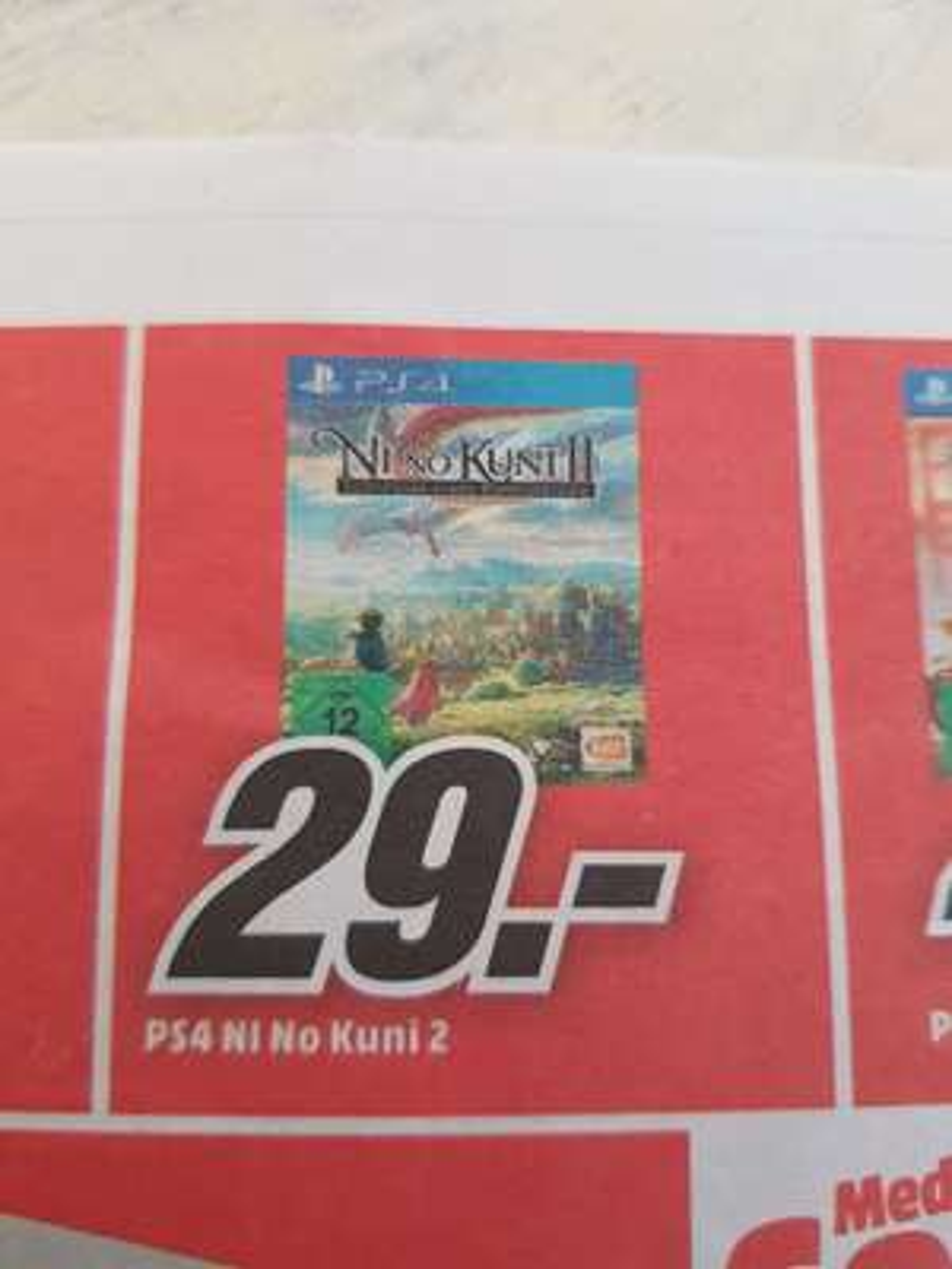 Ni No Kuni 2  PS4 (Lokal Media Markt Mönchengladbach)