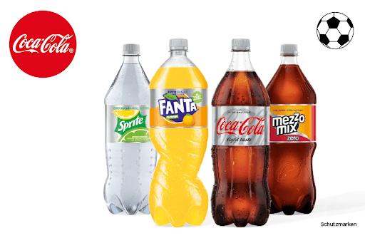 [Rewe/Scondoo] Coca Cola 1,- bei Rewe  mit Scondoo die zero/light Produkte für 0,80€ in der 1,5 l Flasche