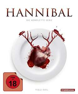 Hannibal Staffel 1-3 Gesamtedition (Blu ray) [Amazon prime - deal des Tages]