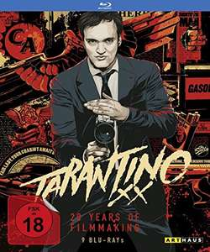 Tarantino XX - 20 Years of Filmmaking Blu-ray Box[9 Blu-rays] @Amazon Prime