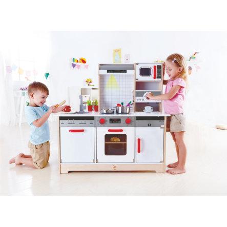 Multifunktionale Spielküche Hape E3145 mit Vollausstattung für Kinder ab 3 Jahren