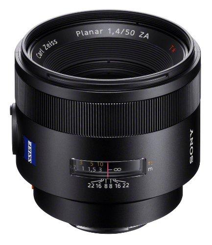 [amazon.fr - Kreditkarte notwendig] Sony Zeiss SAL-50F14Z Vollformat-Objektiv 50 mm F1.4 für Sony Alpha