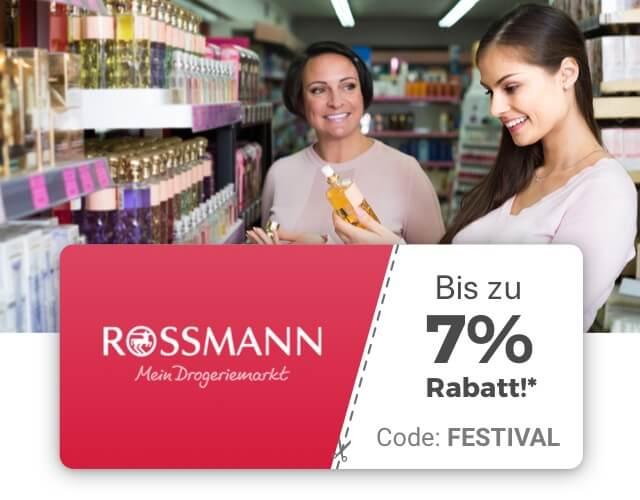 Zeek: 3 € Rabatt auf Rossmann Gutscheine (MBW: 50€)