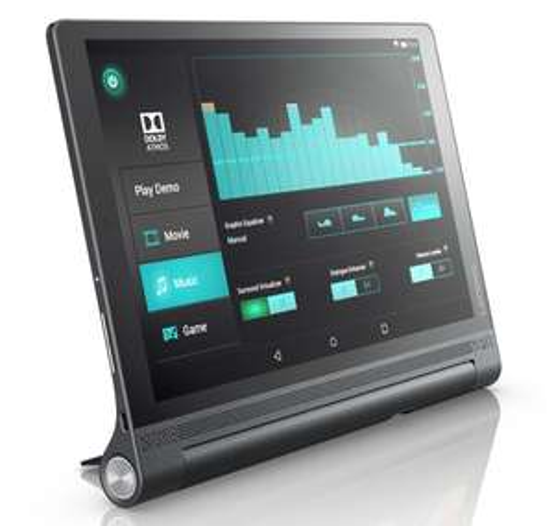 "Lenovo YOGA TAB 3 PRO 10,1"" QHD IPS Display, Integrierter Beamer, 4 GB RAM, 64 GB Flash, LTE"