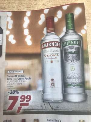 Smirnoff Vodka bei Real