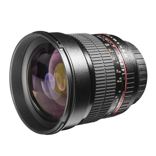 Walimex Pro 85 mm 1:1.4 CSC Objektiv für Sony E-Mount (Bsp: Sony Alpha 7 / Alpha 9 / Alpha 6000, etc.)