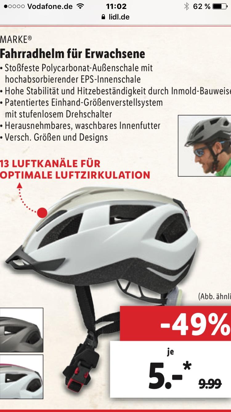 Fahrrad Schutzhelm Lidl Sonderverkauf Berlin
