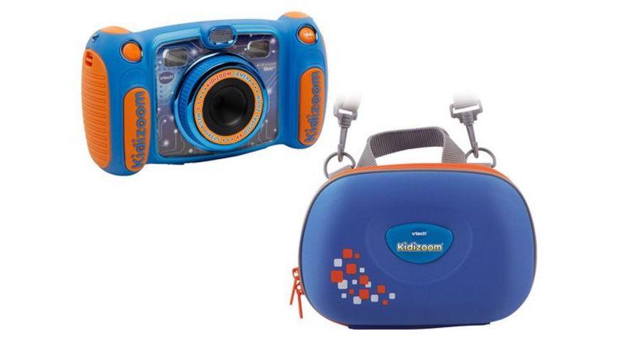VTECH Kidizoom Duo 5.0 blau inklusive Tasche und Kopfhörer bei Mueller Drogerie