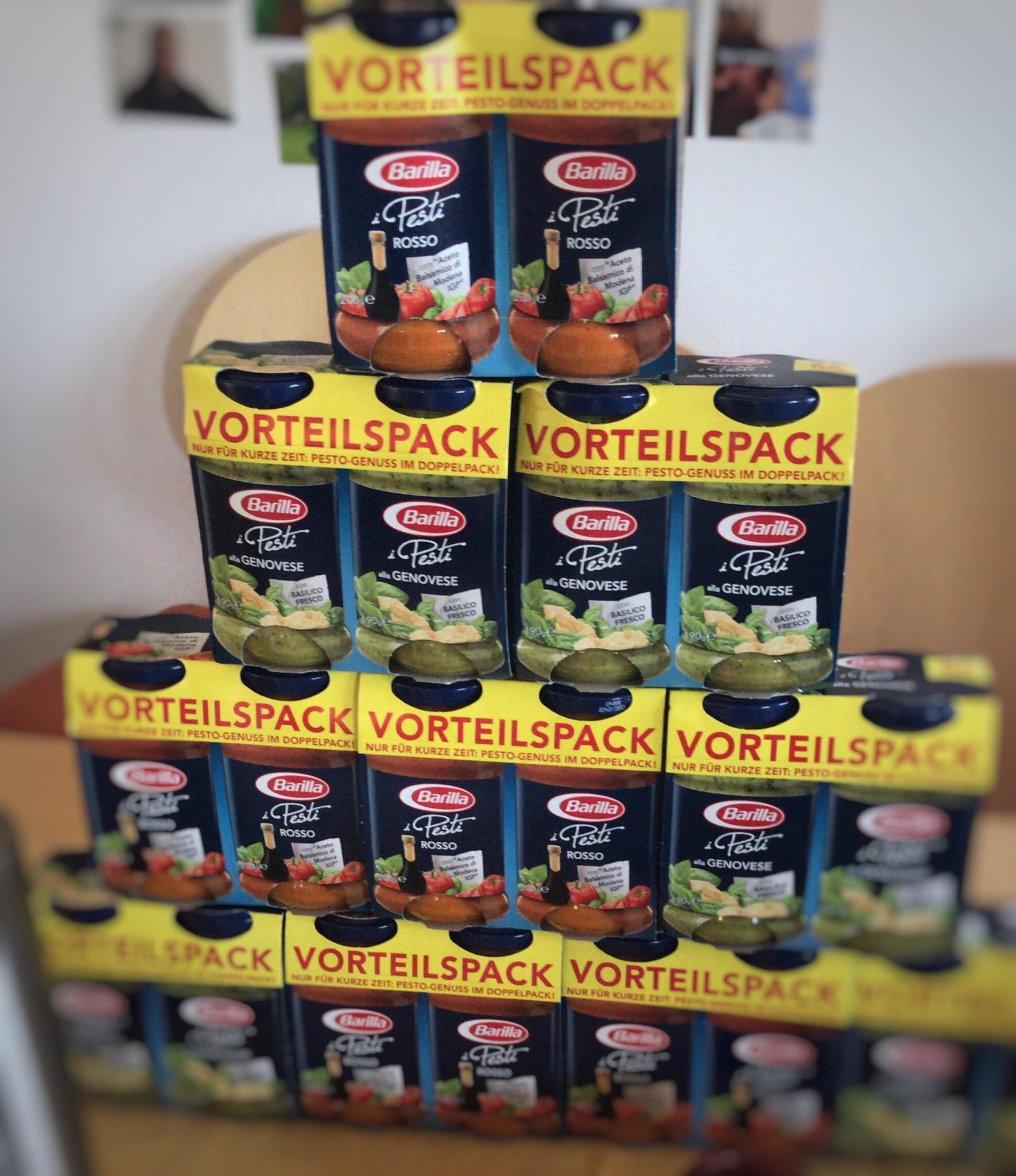 [Penny] Barilla Pesto Doppelpack Offline-Angebot für 3,79€