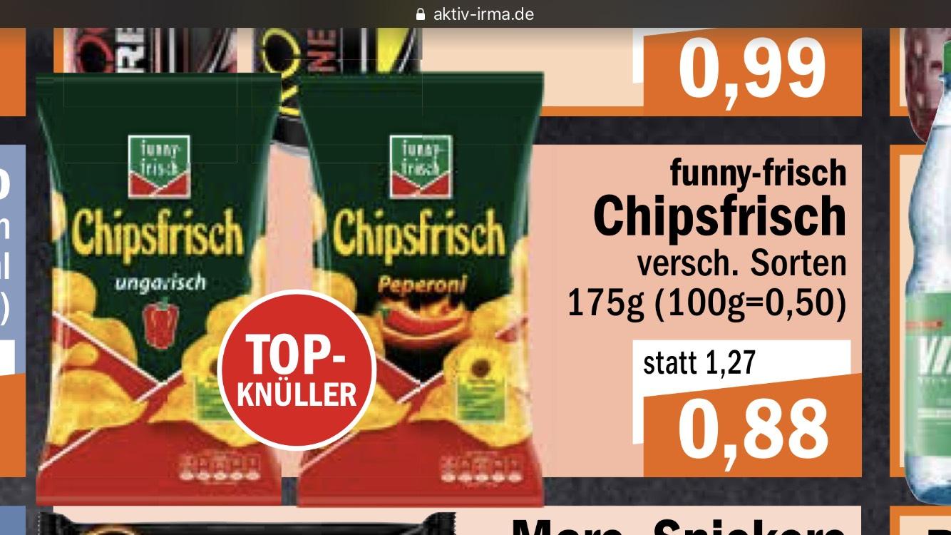 Chipsfrisch von funny-frisch für 0,88 €, lokal Oldenburg