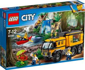 LEGO City - Mobiles Dschungel-Labor (60160) @Rossmann, Green Label, mit 10% Coupon nur 22,50€