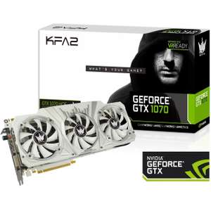 Kfa2 GeForce GTX 1070 Hall Of Fame(Mindstar)
