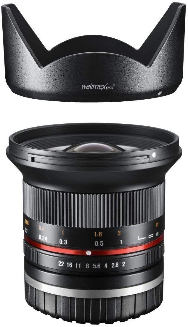 Walimex Pro 12 mm 1:2.0 Fujifilm, MFT, Sony - Objektiv // Händler Walser